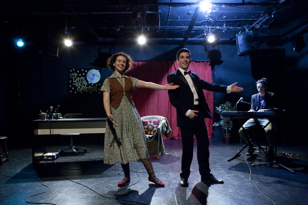 Lauren Glover and Nick Lehane. Photo by Aaron Epstein.