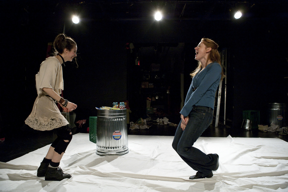 Jocelyn Kuritsky and Amy Landon. Photo by Aaron Epstein.