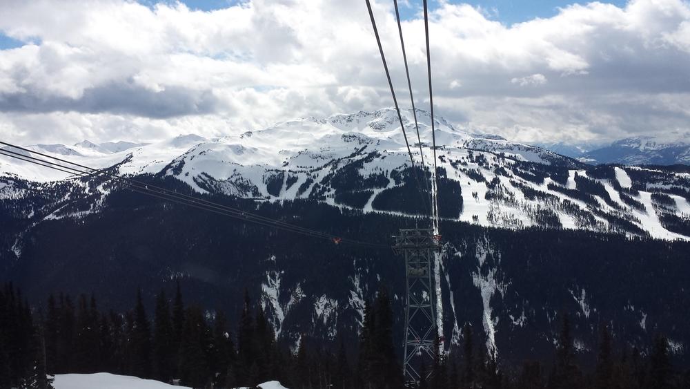 Peak 2 Peak Gondola - Whistler/Blackcomb