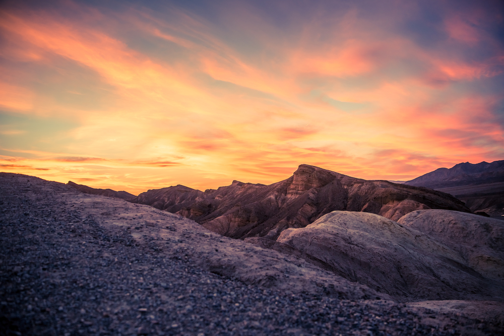 Zabriskie Point - Death Valley, California