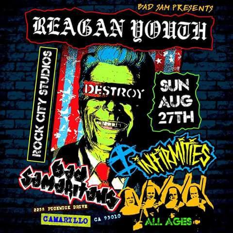 Rock City Studios Camarillo Ca Reagan Youth