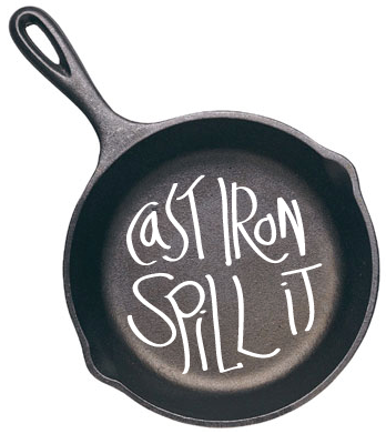 Cast Iron Spill-It