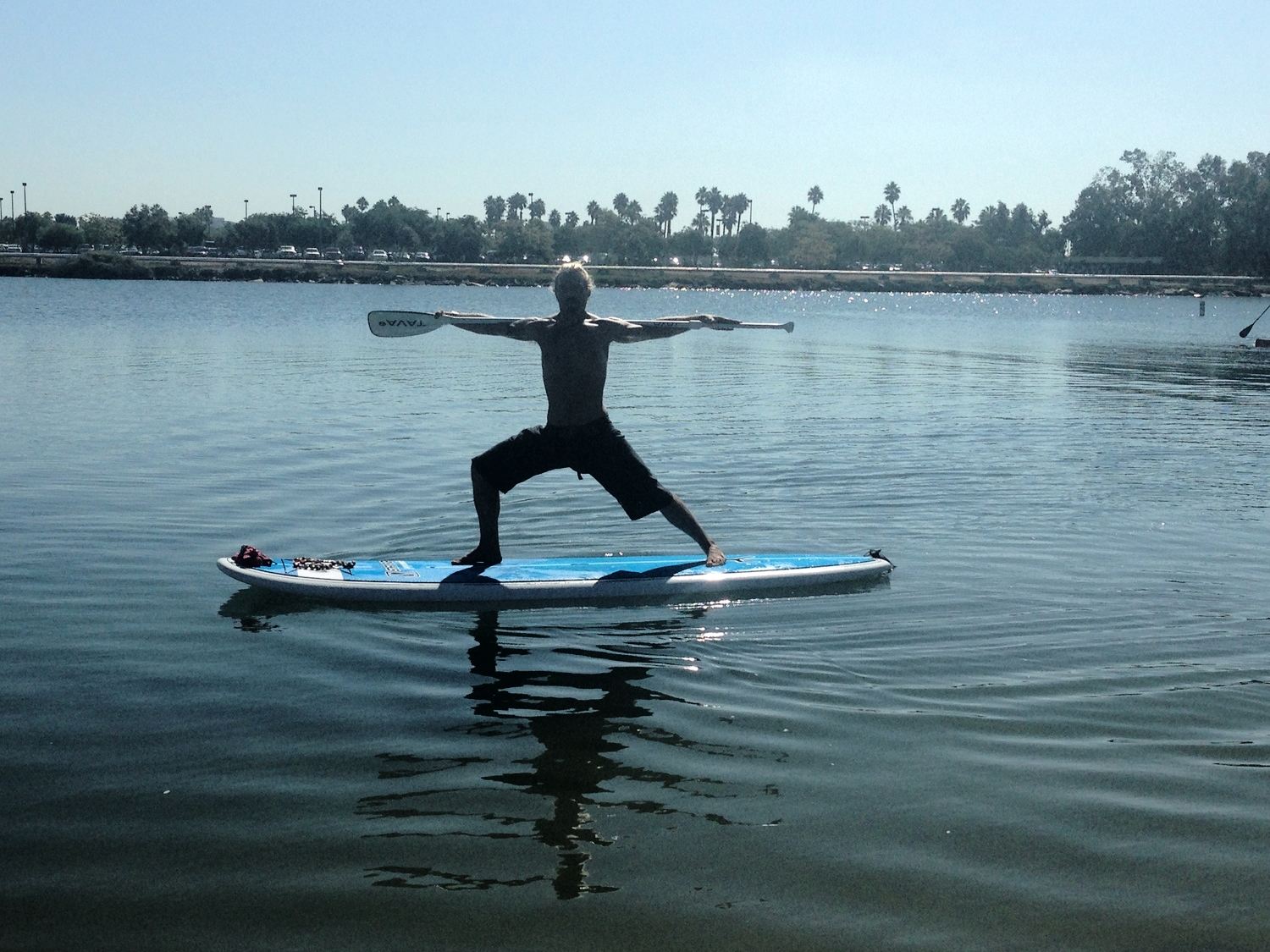 Dustin Swindle SUP Yoga Instructor