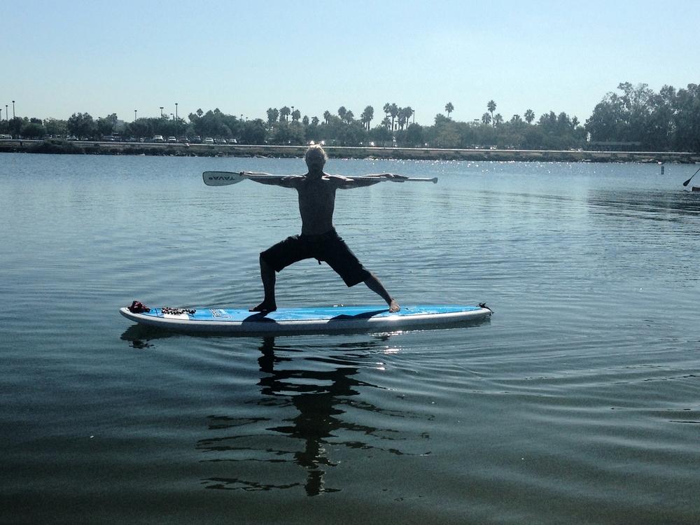 Dustin Swindle SUP Yoga Instructor