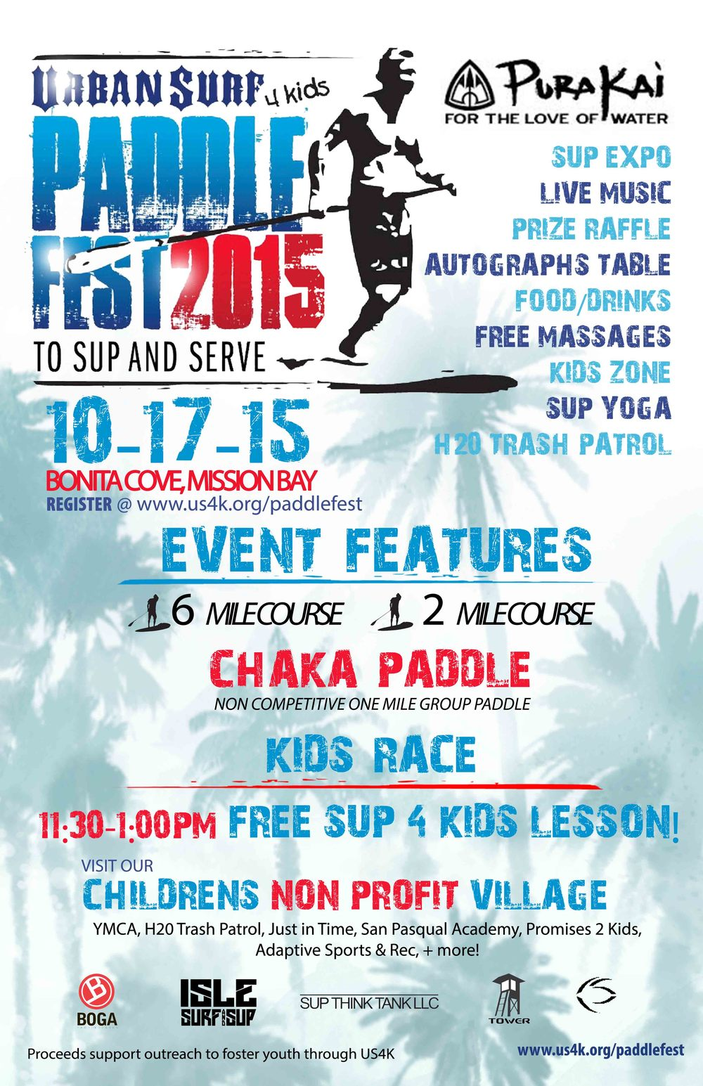 2015 UrbanSurf4Kids poster