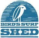 Birds surf shed