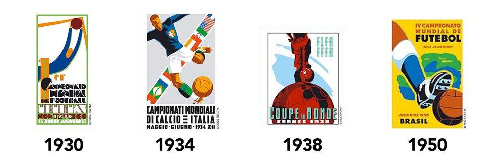 fifa world cup logos tom watson designer