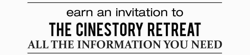 ******* PLEASE NOTE, THE 2014 IS NOW CLOSED. BY CLICKING THROUGH AND FILLING OUT THE INFORMATION YOU WILL BE SUBMITTING FOR THE 2015 CINESTORY RETREAT *******