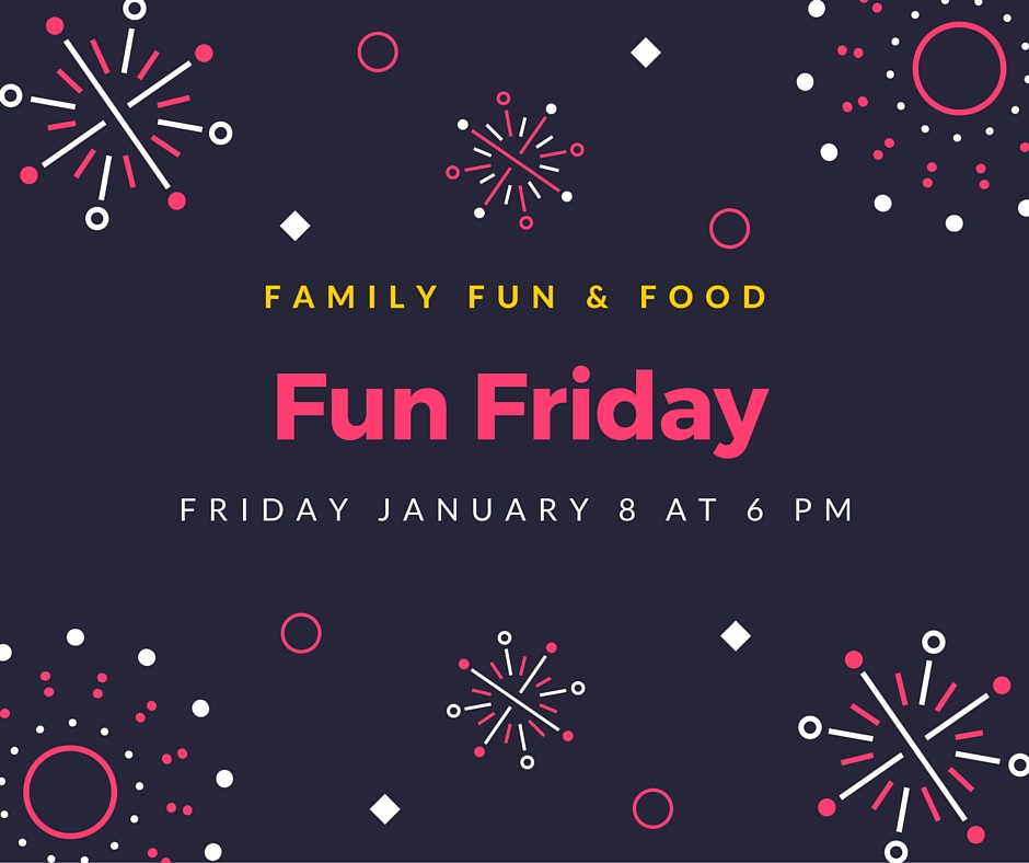 All are welcome for family fun & food.