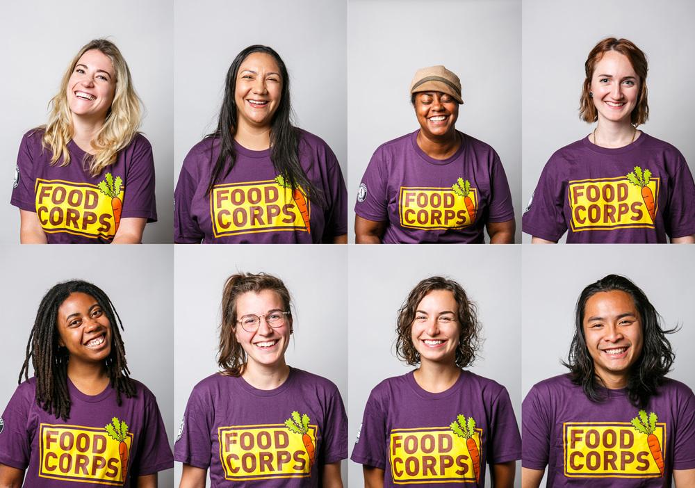 Food Corp - New Hire Portraits