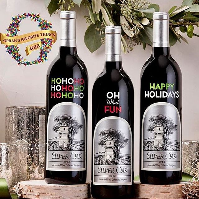 Congratulations to @silveroakcellars for making @oprah's list of favorite things! You're on our list of favorite things too! #oprah #silveroak #oprahsfavoritethings #favoritethings #lifeisacabernet #napavalley #wine #congratulations #cheers