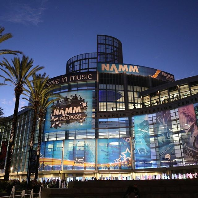 Until next year... #namm #nammshow #music #convention #tradeshow #california