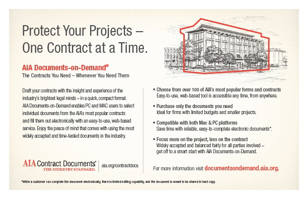 About Contract Documents Aia North Carolina