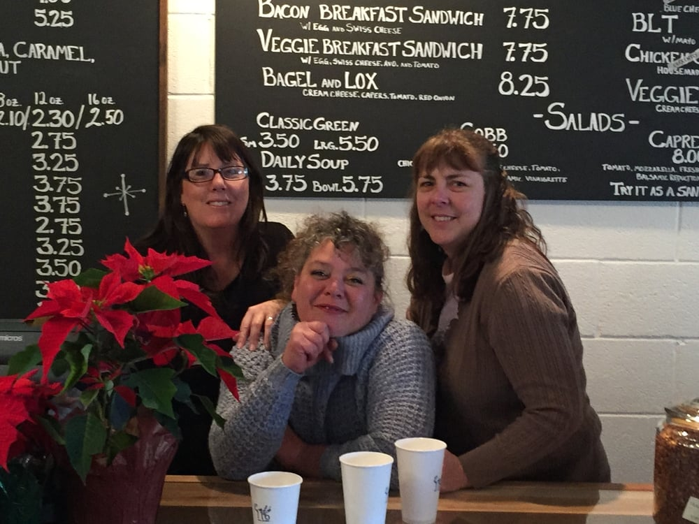 Bonnie, Tiffany and Dena invite you to join them at Cafe 116.