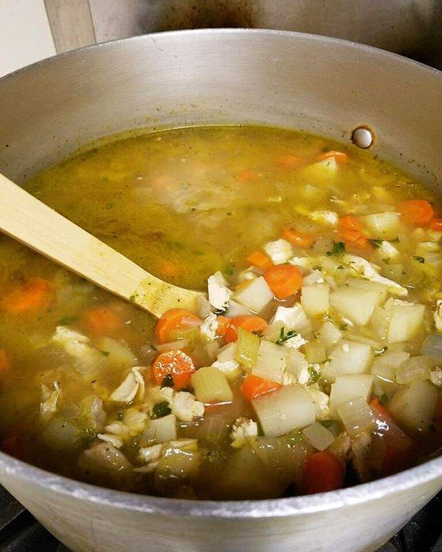 Trying to fight your winter cold? Nothing helps like homemade soup!