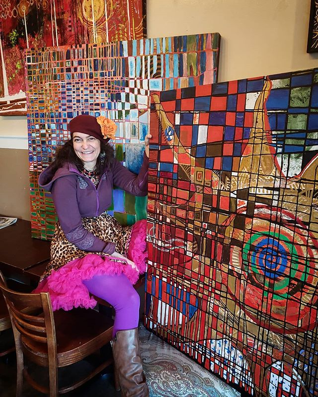 Come on down this FIRST FRIDAY for our very colorful art show featuring Soriya Blalock!  FEBRUARY 1ST