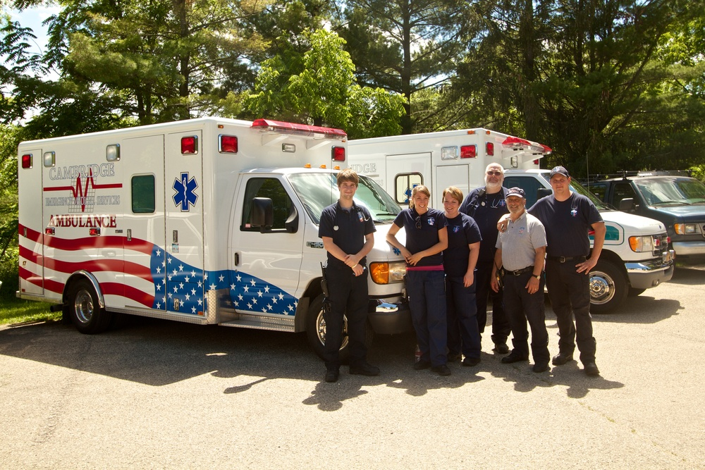 Cambridge EMS at the 2013 Battle of CamRock