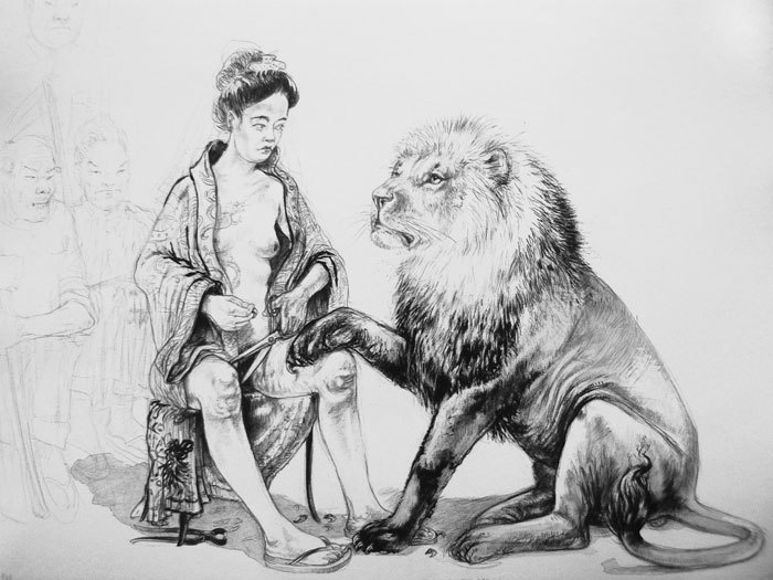 Diane-Victor--the-lion-who-loved-the-lady.jpg