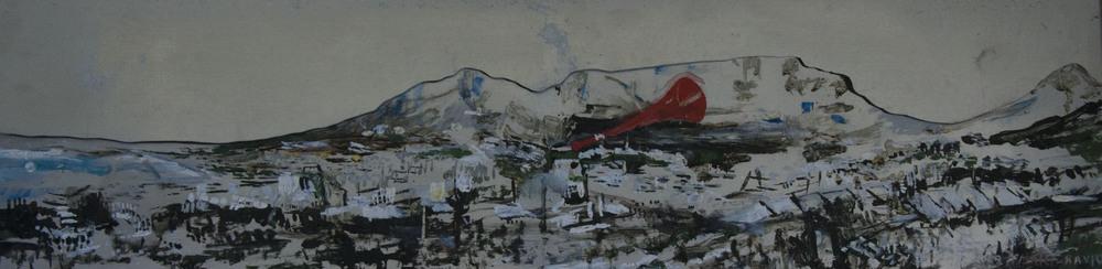 Arlene Amaler-Raviv _ vuvuzela oil on aluminum 2009.JPG