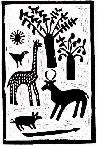 Giraffe-under-a-Tree,-Linocut,-420x300-Abraham-Hamunyela.jpg