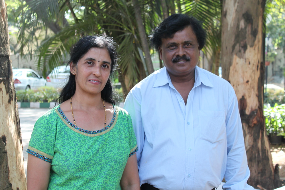 Suma and Kumar, India Production Team