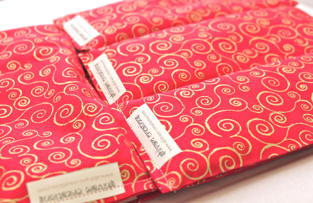 Shivam Eye Pillows for Red Diamond Yoga, Los Angeles, CA