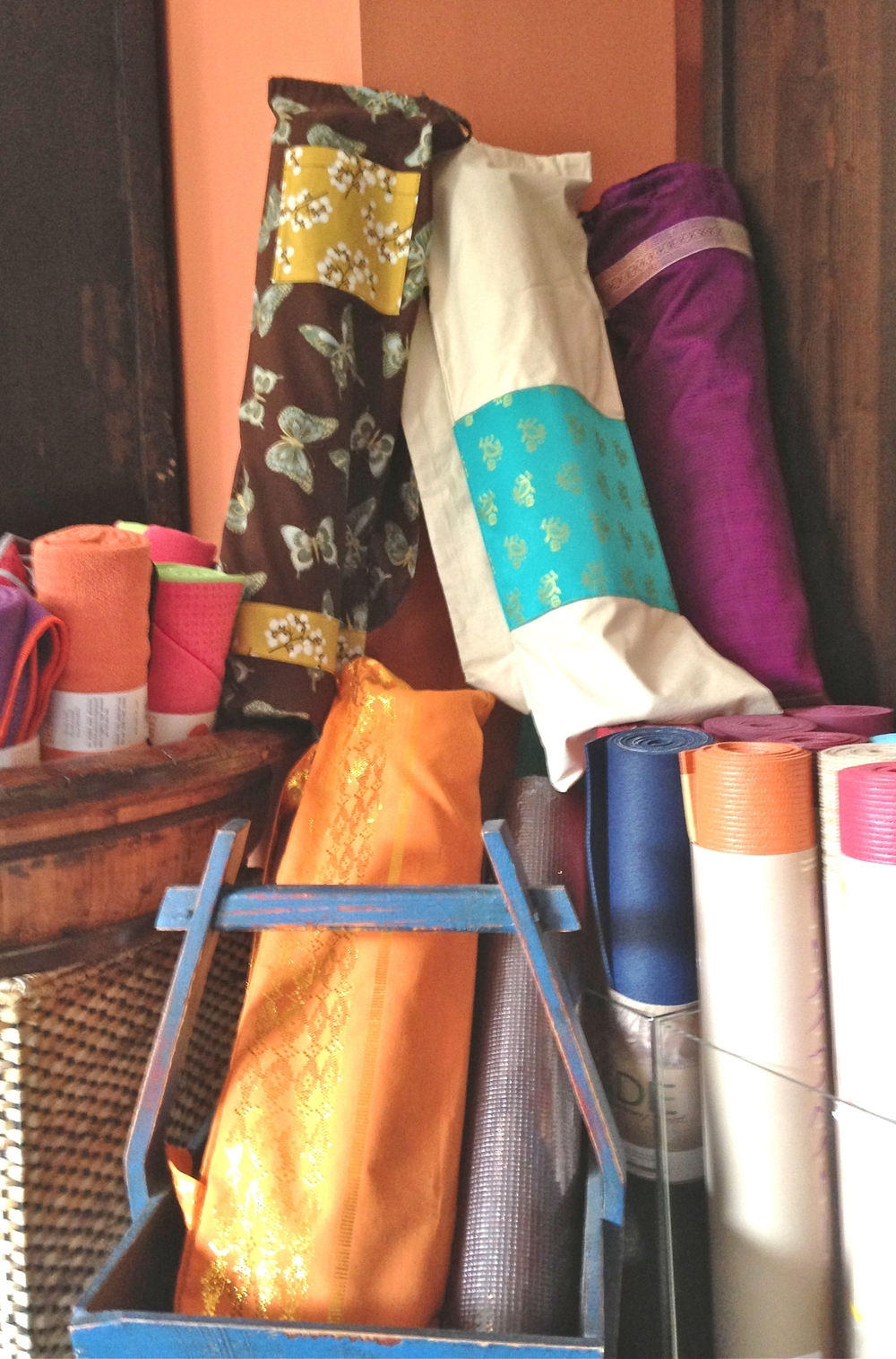 Shivam Bags at Be Evolution Yoga, Montclair, NJ