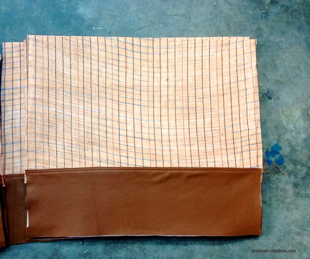 Khadi Bag in Progress