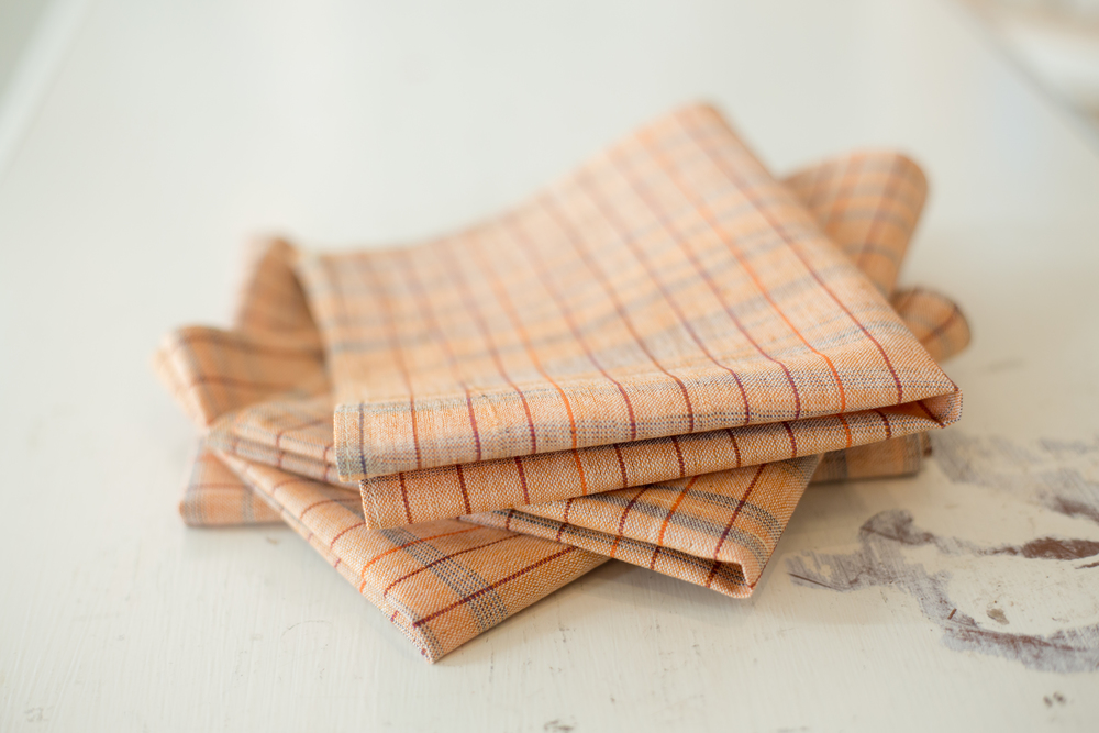 Dinner Napkins in Khadi Cotton