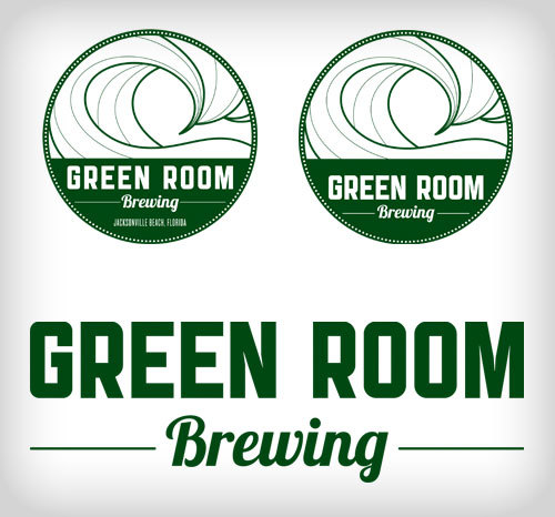 Green Room Brewing Logos