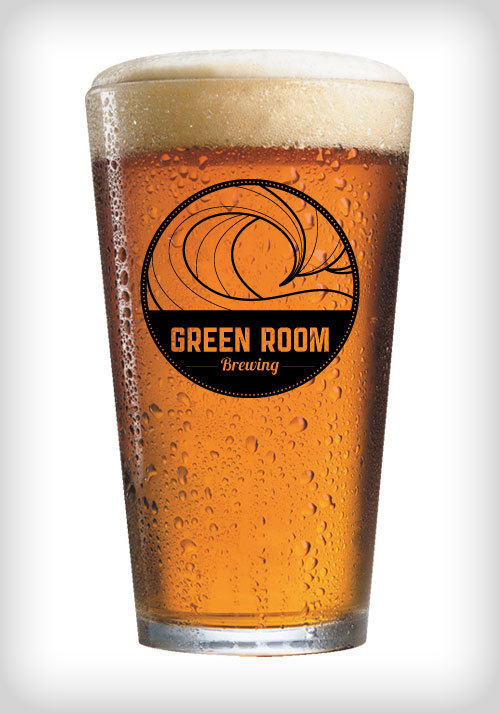 Green Room Brewing Pint