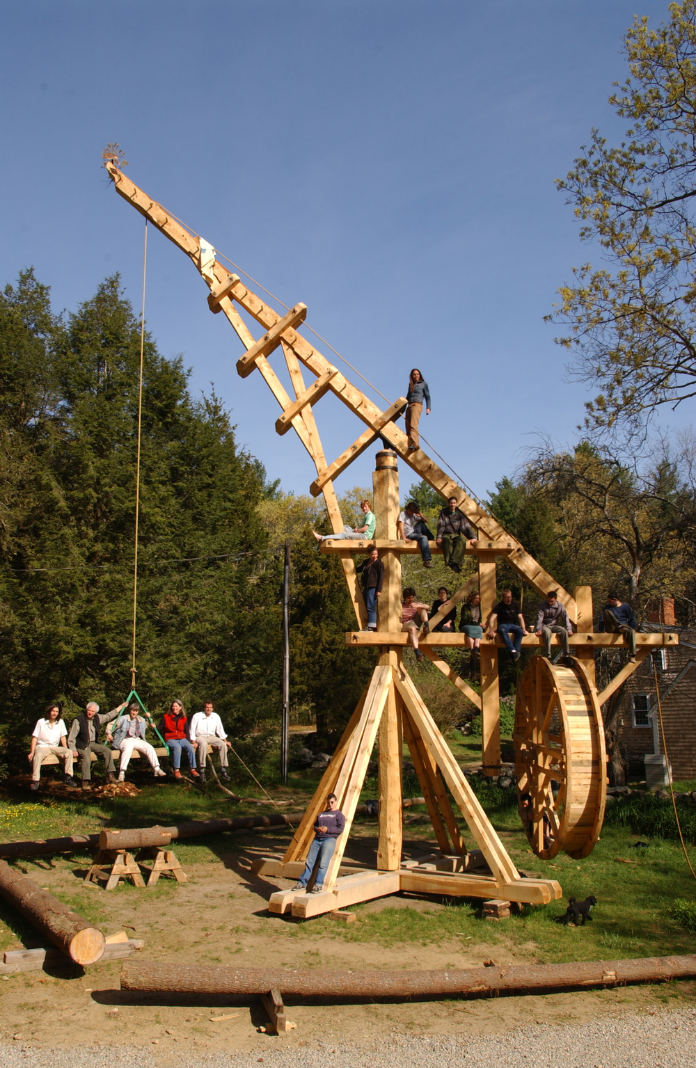 Handshouse Replica of the Perronet Crane