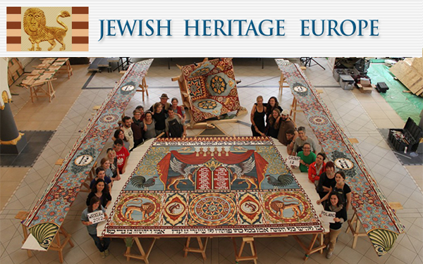 8.14.12   After 10 years of research and workshops, the reconstruction of the wonderfully painted ceiling of the destroyed Gwozdziec synagogue is complete…    Read more from Jewish Heritage Europe