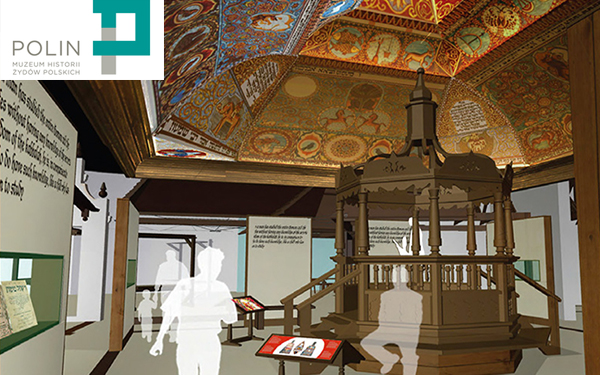4.1.13  The Museum of the History of Polish Jews, in collaboration with Handshouse Studio, plans to rebuild components of a exquisite 17th-century wooden synagogue… Read more from Museum of the History of Polish Jews Newsletters