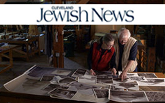 "10.1.15  The ""Raise the Roof"" project began in 2003 when a traditional carpenter who also teaches at New York University showed the Browns a photograph of one of these vanished wooden synagogues:… Read More from the Cleveland Jewish News"