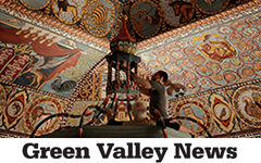 "9.29.15   ""It's not the first time we've done a project like this. We went to a conference in Poland where one man had great intentions but didn't know how to organize…""    Read More  from the Green Valley News"