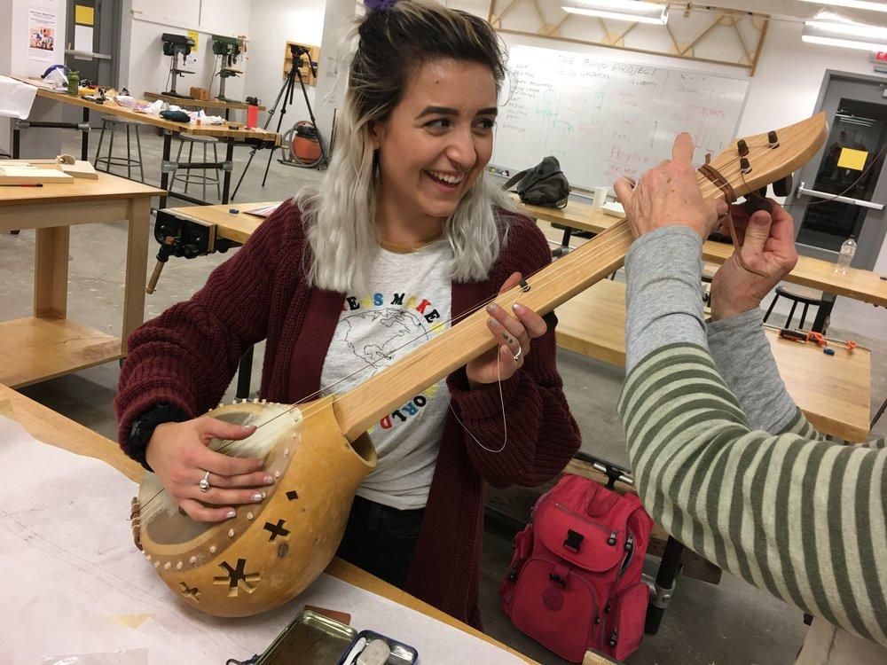 The Old Plantation – student banjo replica