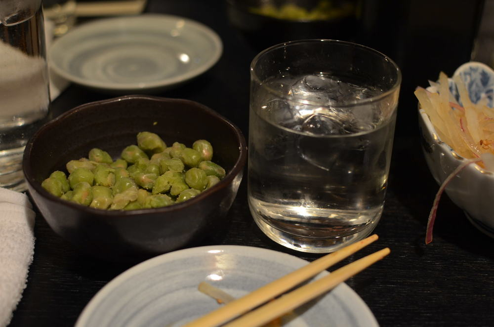 Shochu on the rocks!