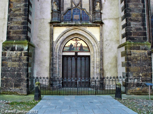 The Wittenberg Castle Church Door.