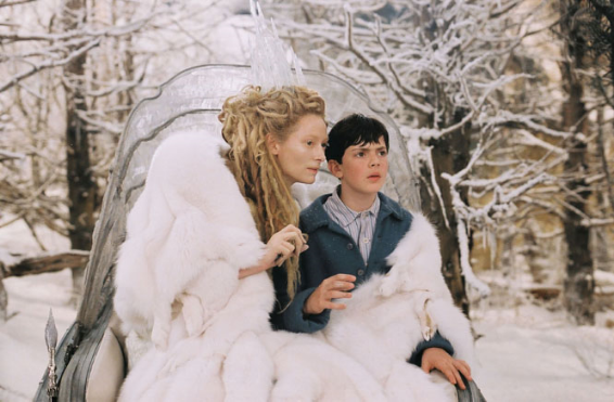 Disney Movie Witch Witch a.k.a. Jadis with Edmund Pevensie (2005)