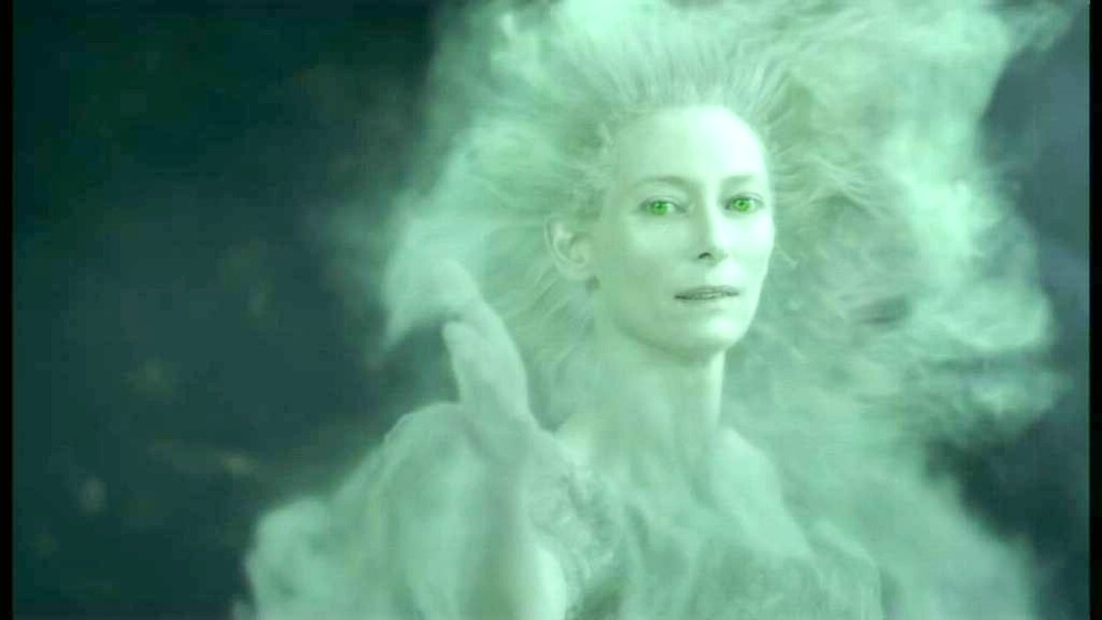 Jadis a.k.a. the White Witch as scene in Prince Caspian according the movie, although not the actual story
