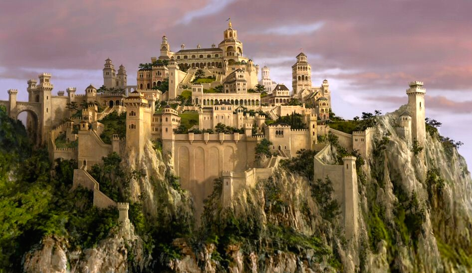 The castle Cair Paravel
