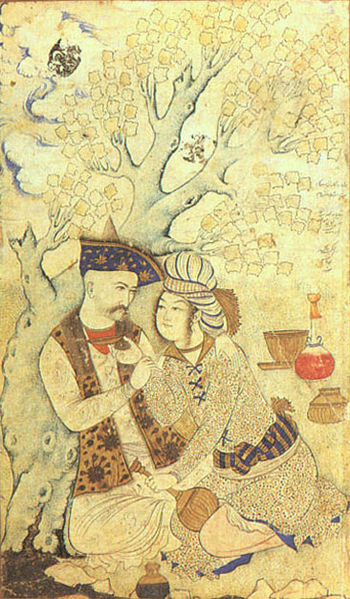 Shah Abbas and Wine Boy