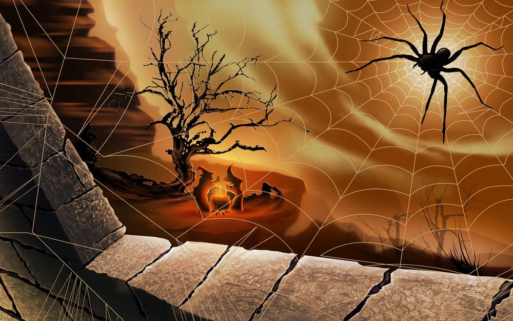 Spiders Webs Witchcraft Desirée M Mondesir