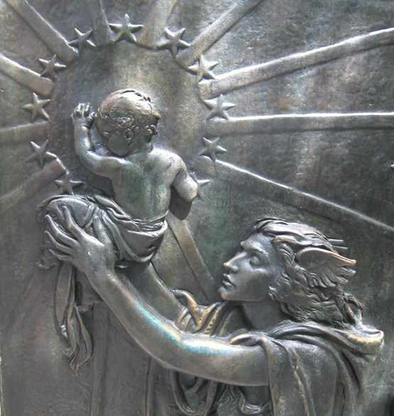 "Semiramis, the Queen of Heaven, and her son, ""divinely"" conceived, Tammuz a.k.a. Nimrod Reborn."