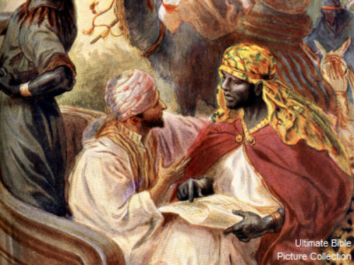 Philip the Evangelist and the Ethiopian Eunuch