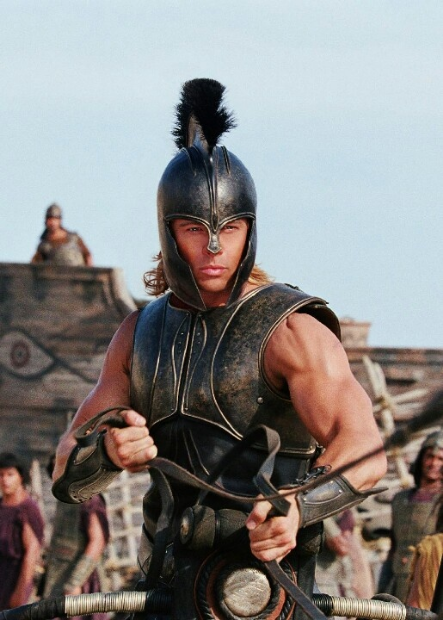 "Achilles, the supposed demi-god offspring of Zeus, the champion of the Greeks, who won his fame in the Trojan War when he was smote by an arrow to his ""Achilles"" heel."