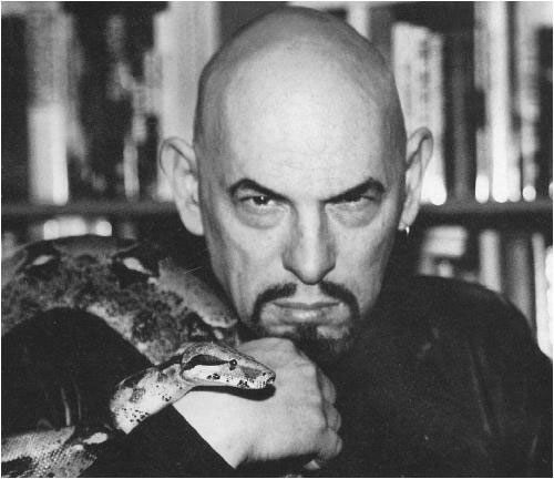 Anton LaVey, the Founder of the Church of Satan and author of the Satanic Bible.