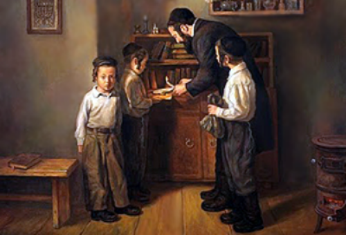 Bedikat Chametz (The search for leaven)