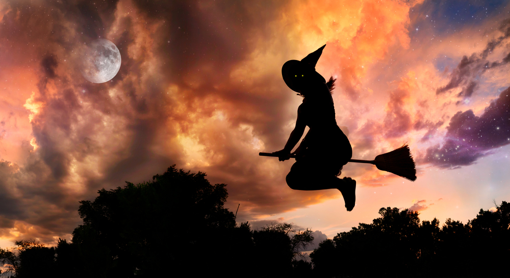 the history of halloween witches broomsticks - Halloween History Witches